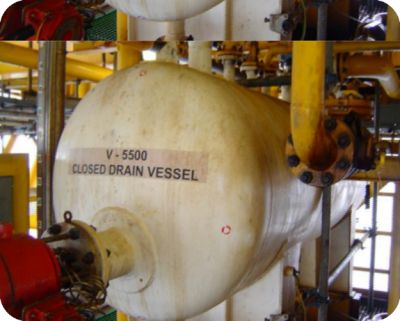 Pressure Vessel Inspection on  WHP-E1, N1, CLPP, NULQ, NCWI, Rang Dong  field