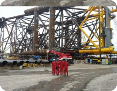 Thien Ung Wellhead  Platform Project -Fabrication of Thien Ung  Jacket